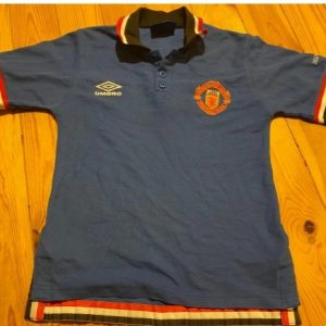 Manchester United Umbro Polo Shirt 90′ XS